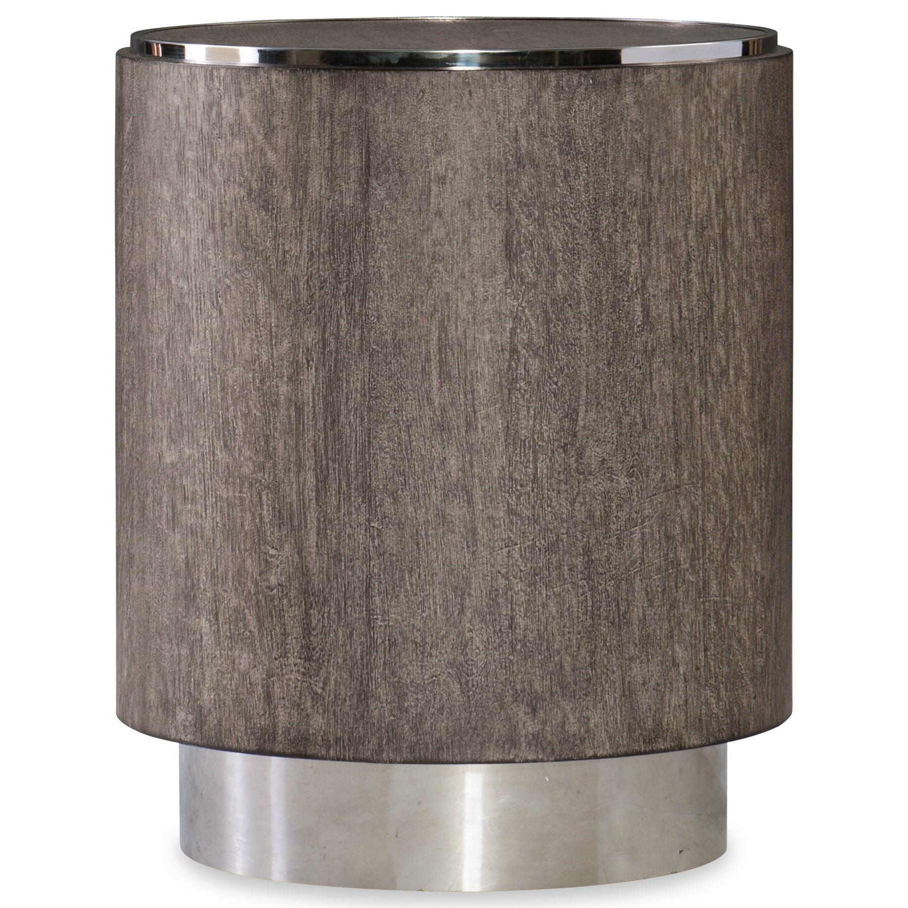 Storia Round End Table by Hooker Furniture at Baer's Furniture