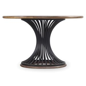 "48"" Cinch Round Dining Table with Metal Base"