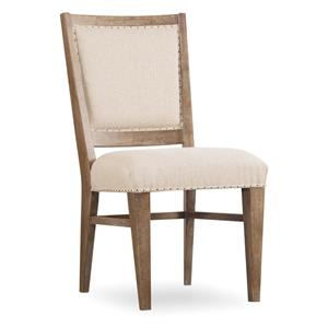 Stol Upholstered Side Chair with Nailhead Trim