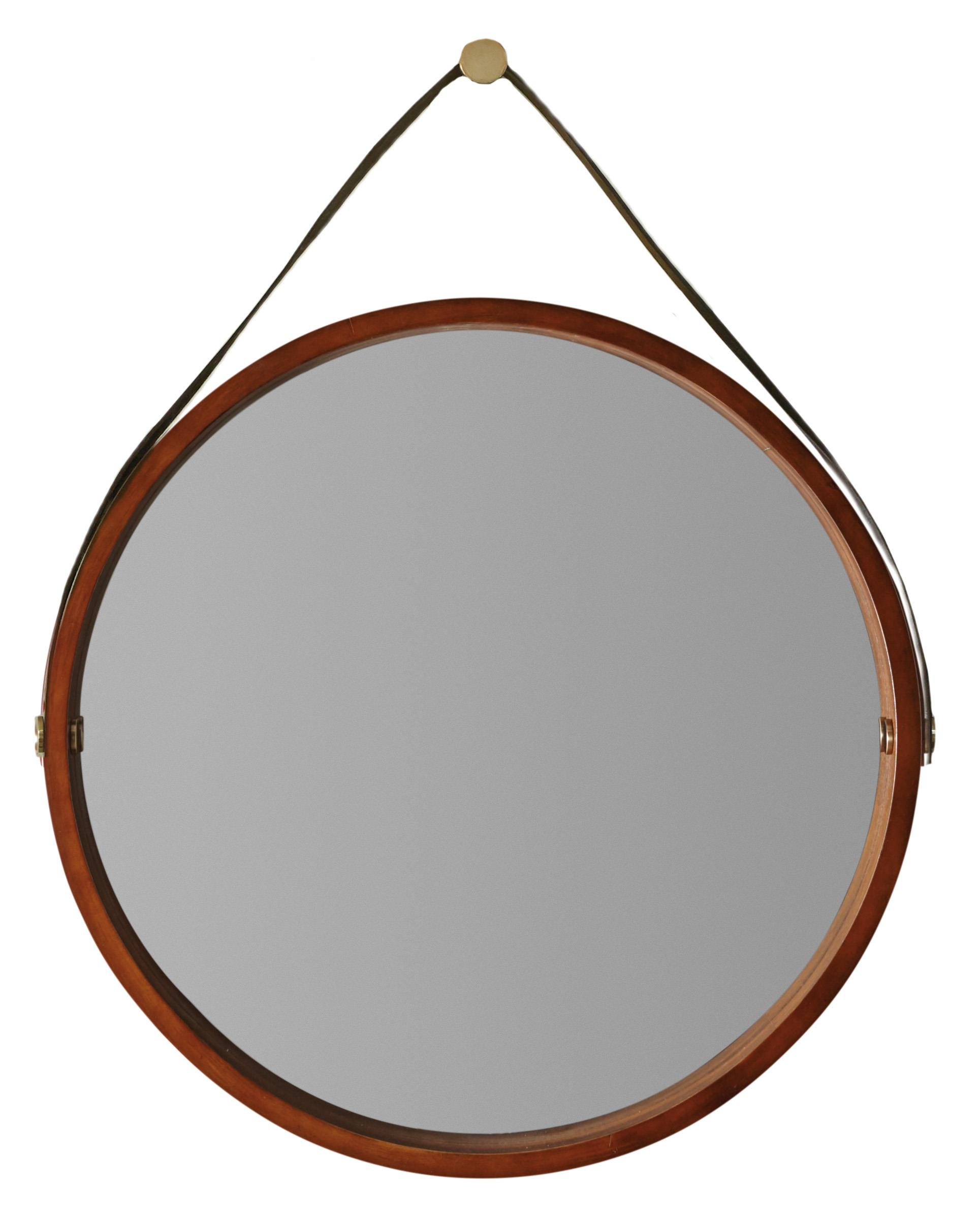 Studio 7H Portal Round Mirror by Hooker Furniture at Miller Waldrop Furniture and Decor