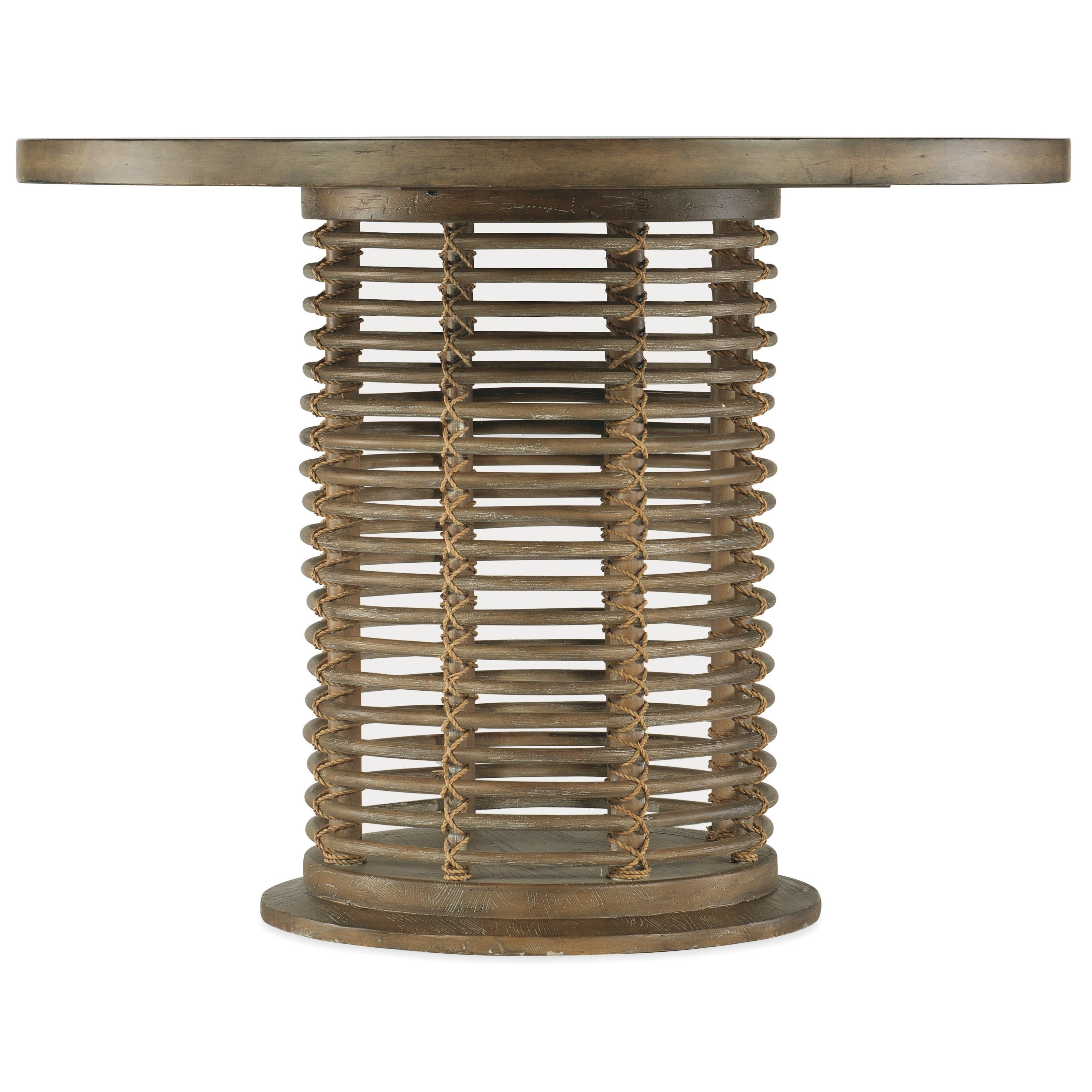 "Sundance 48"" Round Bistro Table by Hooker Furniture at Baer's Furniture"