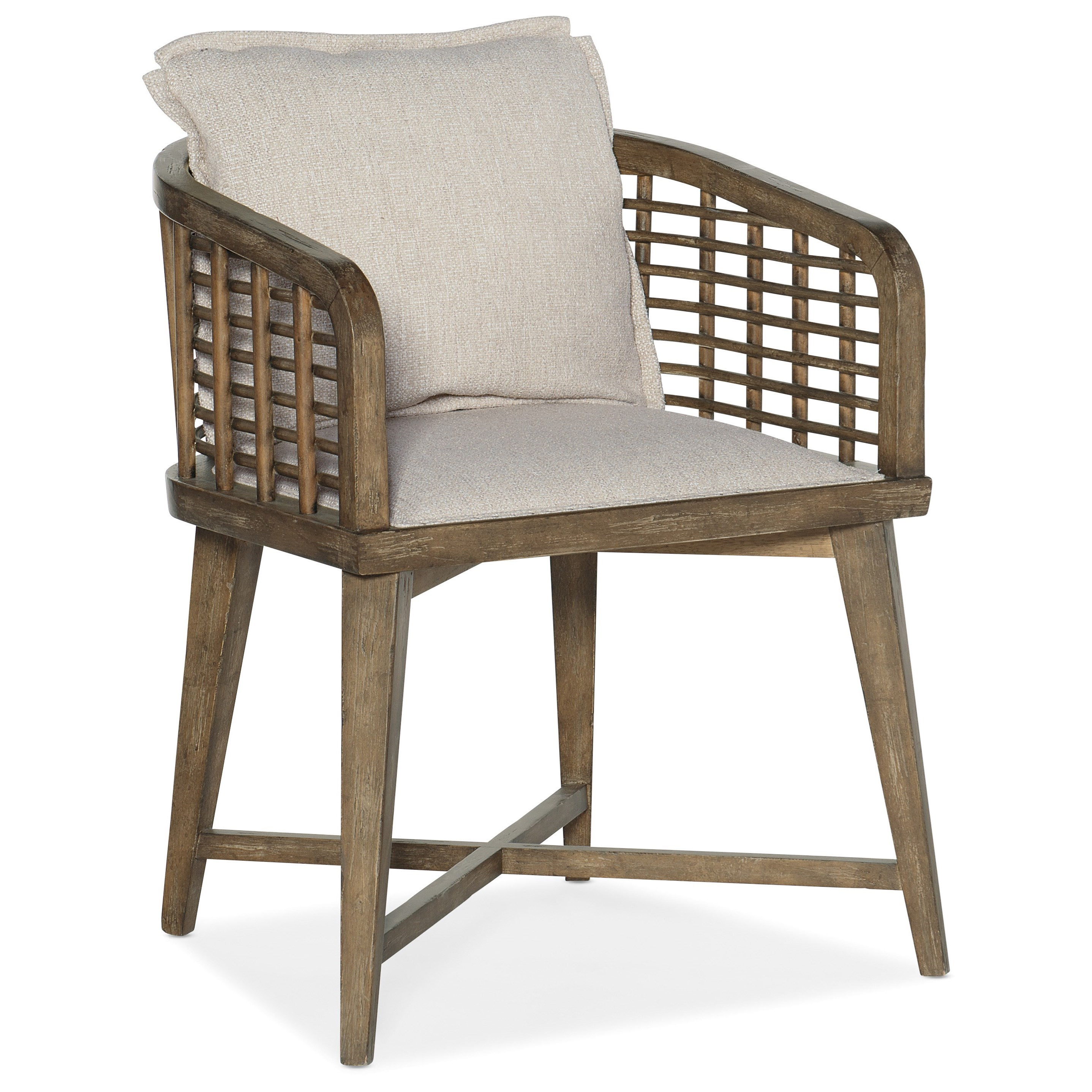 Sundance Arm Chair by Hooker Furniture at Miller Waldrop Furniture and Decor