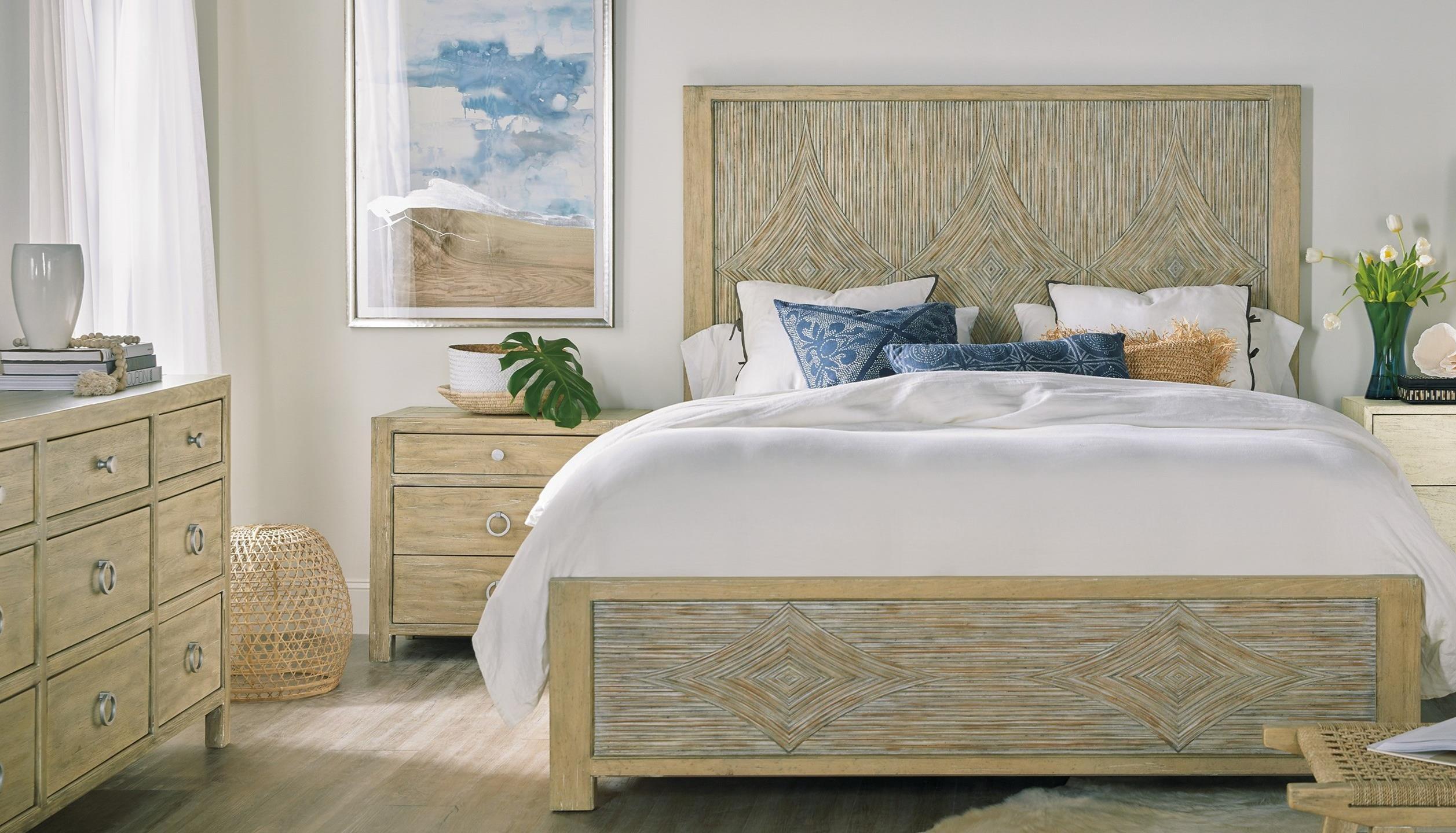Surfrider King Bedroom Group by Hooker Furniture at Miller Waldrop Furniture and Decor