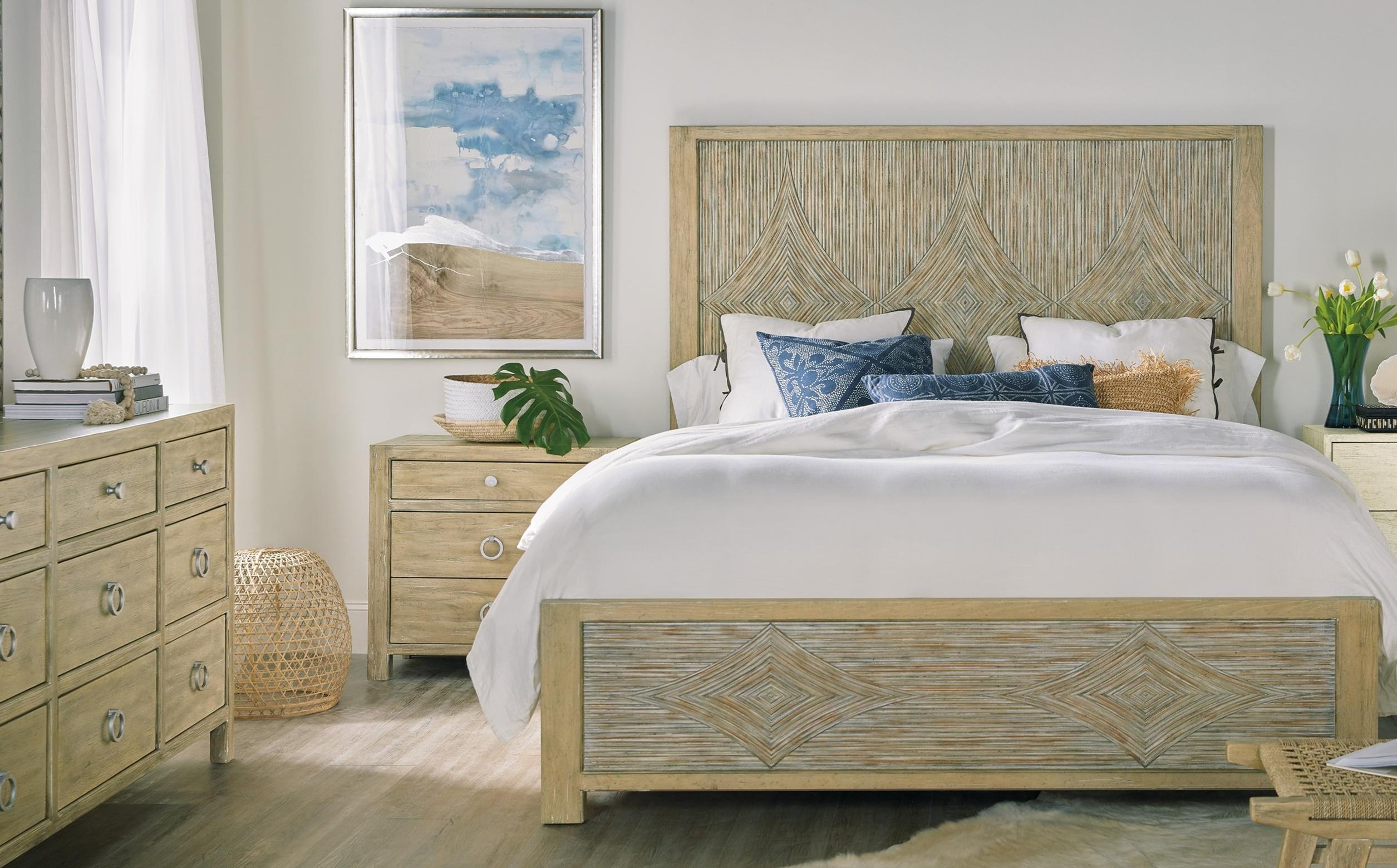 Surfrider Queen Bedroom Group by Hooker Furniture at Baer's Furniture