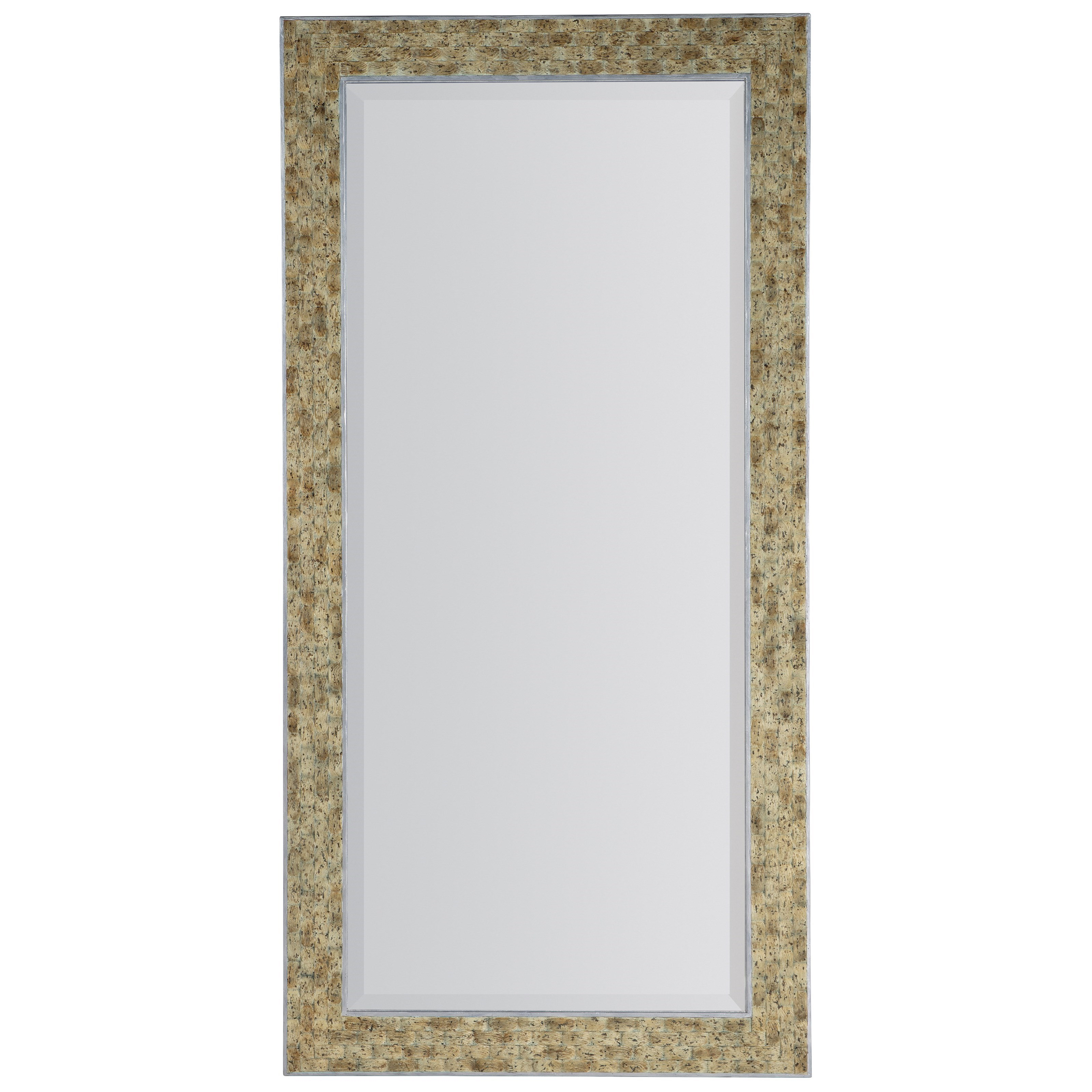 Surfrider Floor Mirror by Hooker Furniture at Miller Waldrop Furniture and Decor