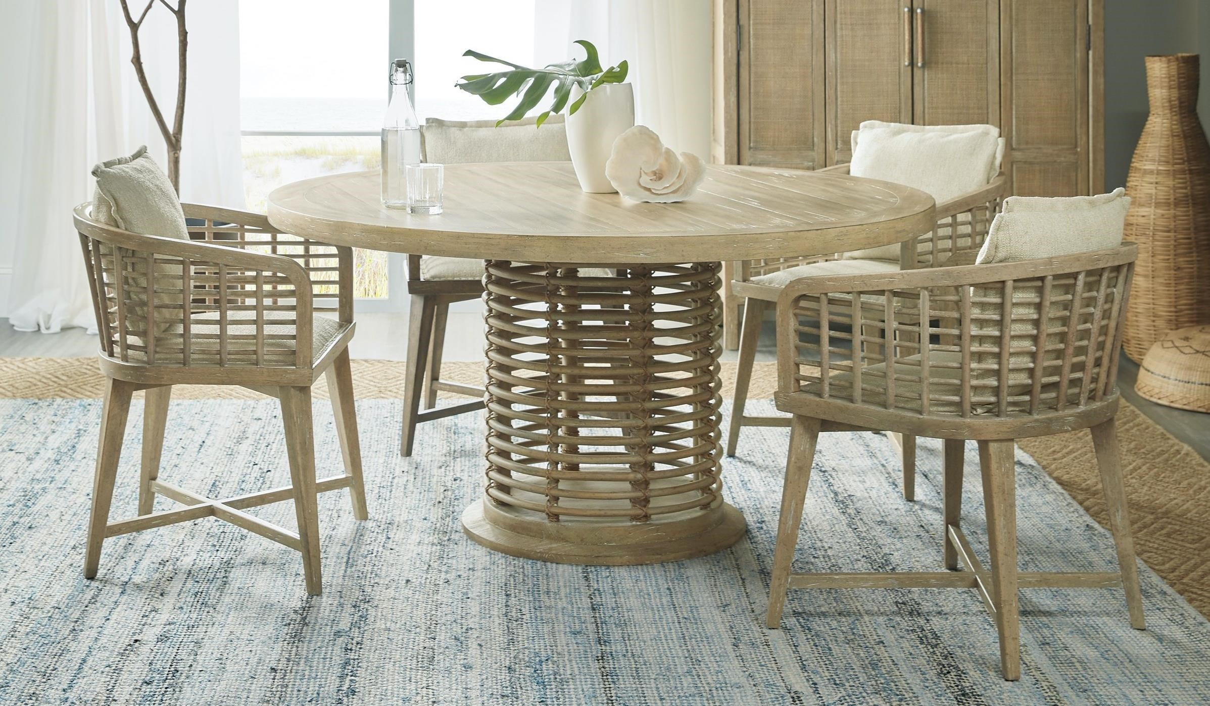 Surfrider 5-Piece Table and Chair Set by Hooker Furniture at Baer's Furniture