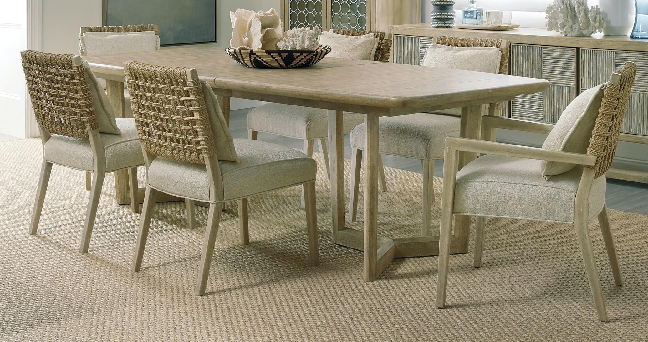 Surfrider 7-Piece Table and Chair Set by Hooker Furniture at Baer's Furniture
