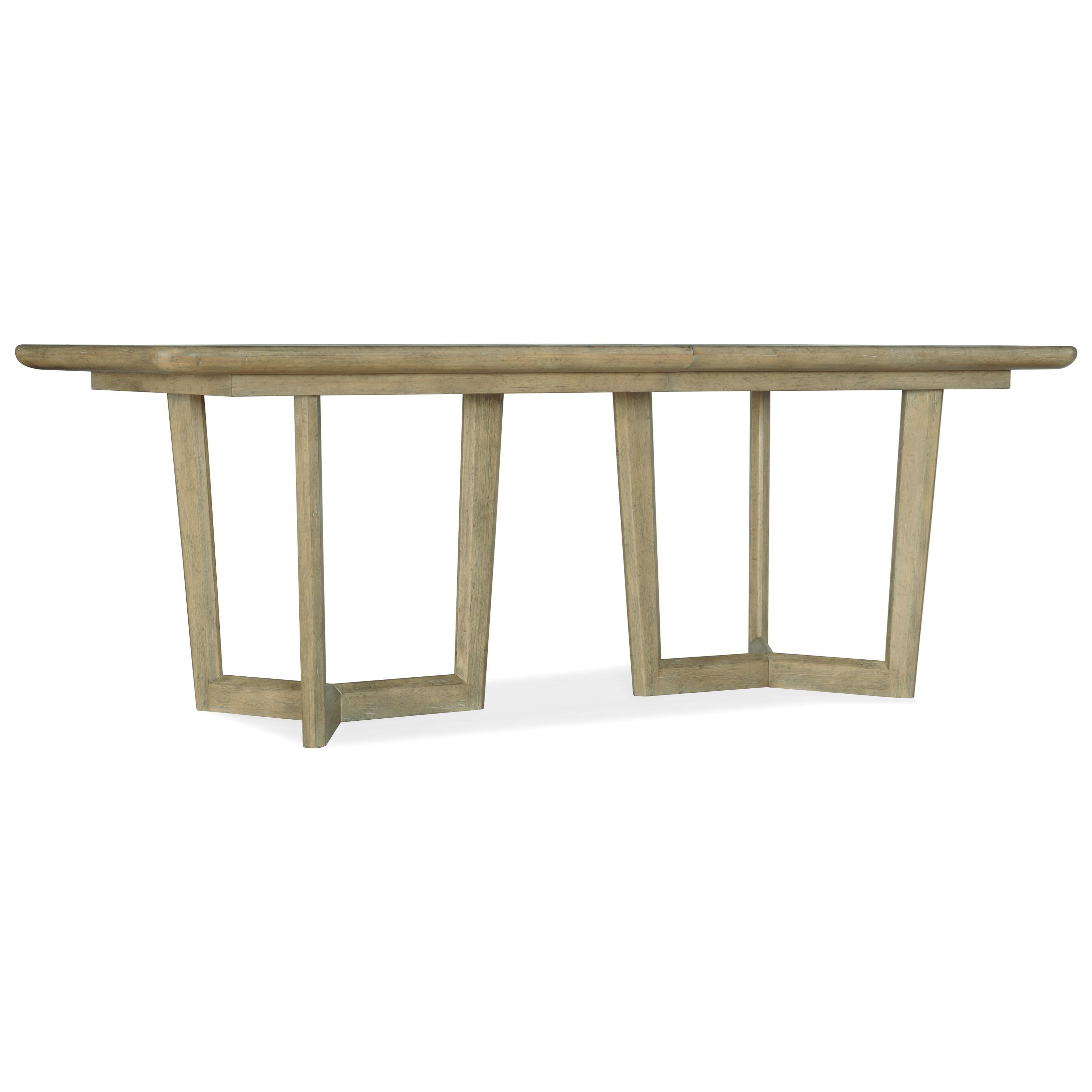 Surfrider Rectangle Dining Table by Hooker Furniture at Baer's Furniture