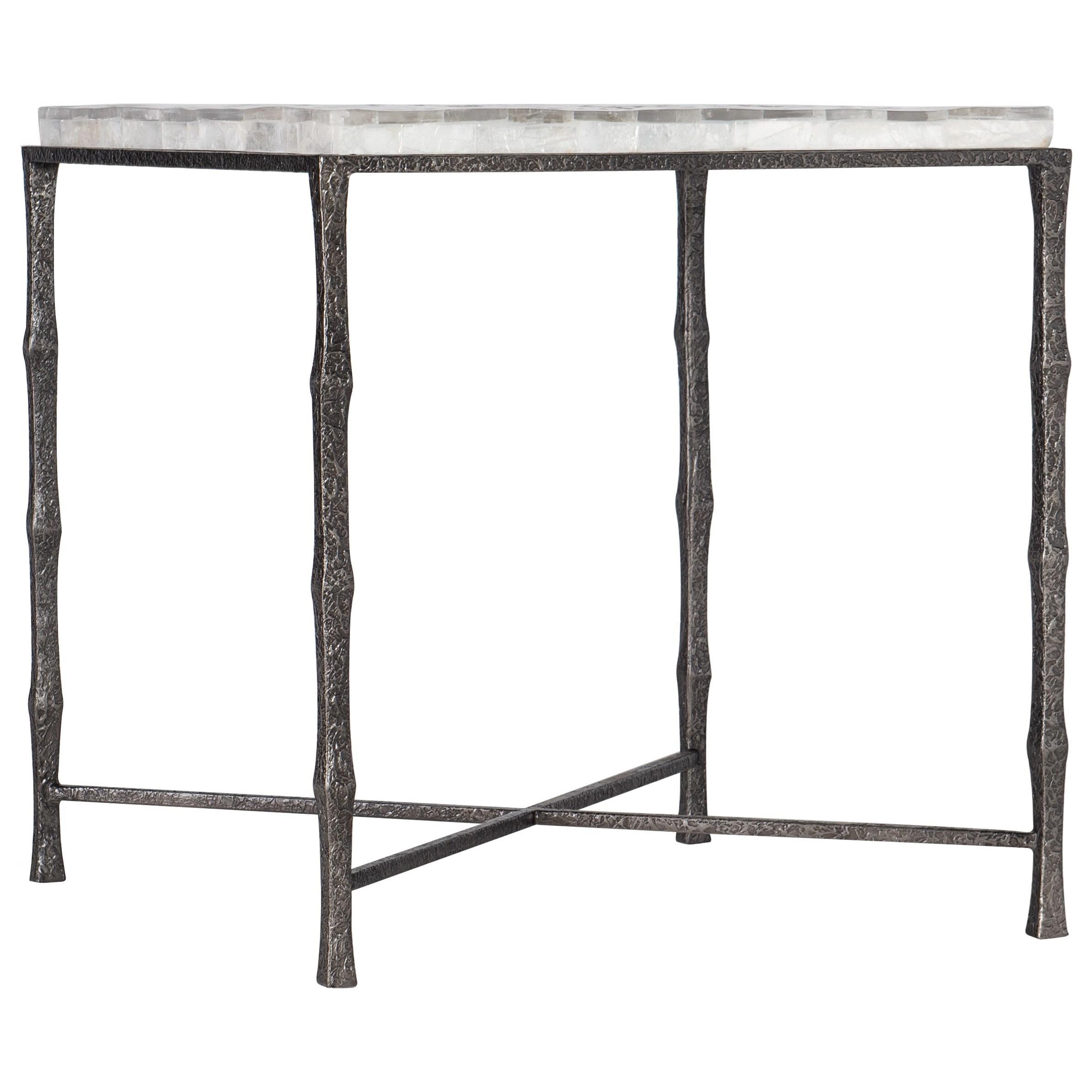 Surfrider End Table by Hooker Furniture at Miller Waldrop Furniture and Decor