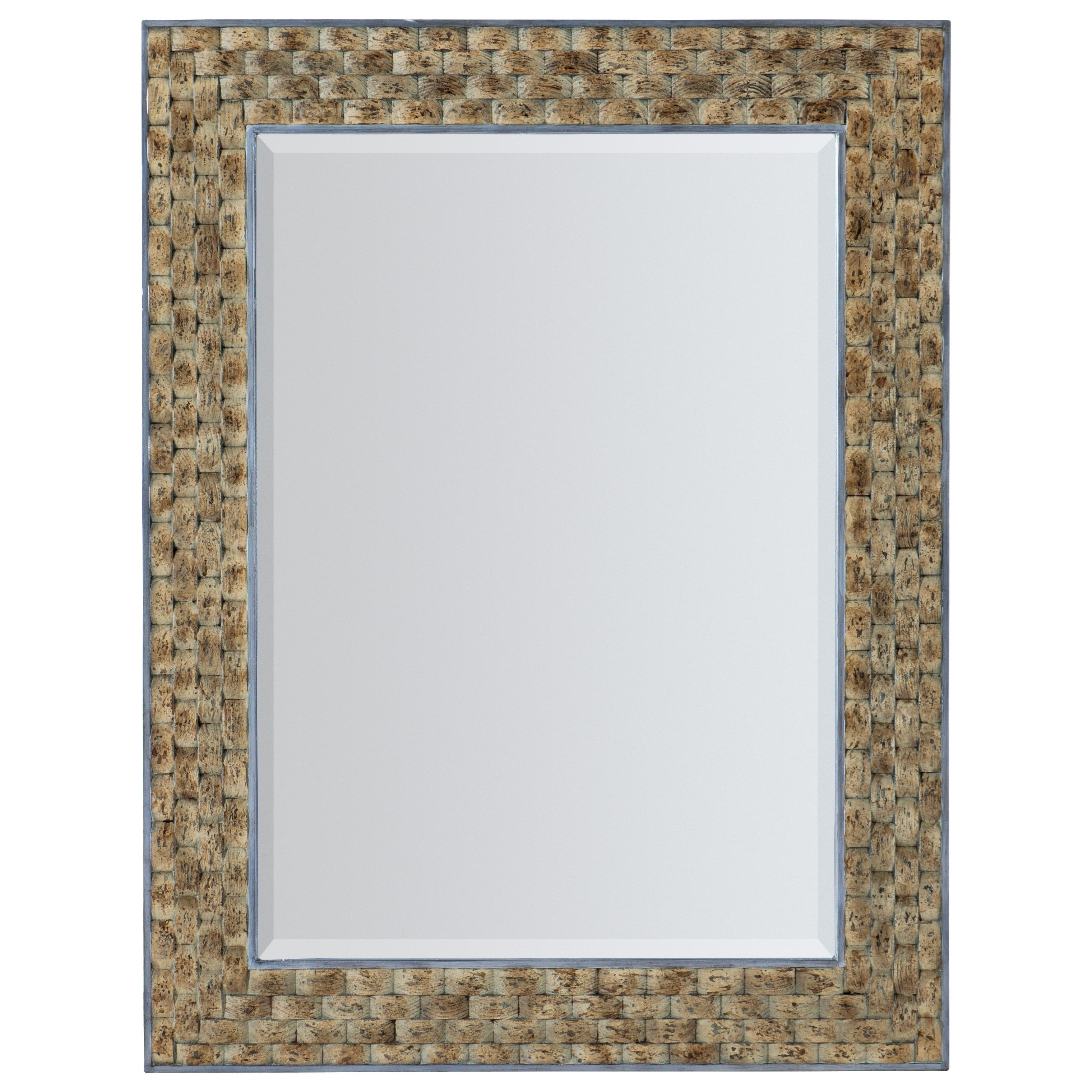 Surfrider Portrait Mirror by Hooker Furniture at Alison Craig Home Furnishings