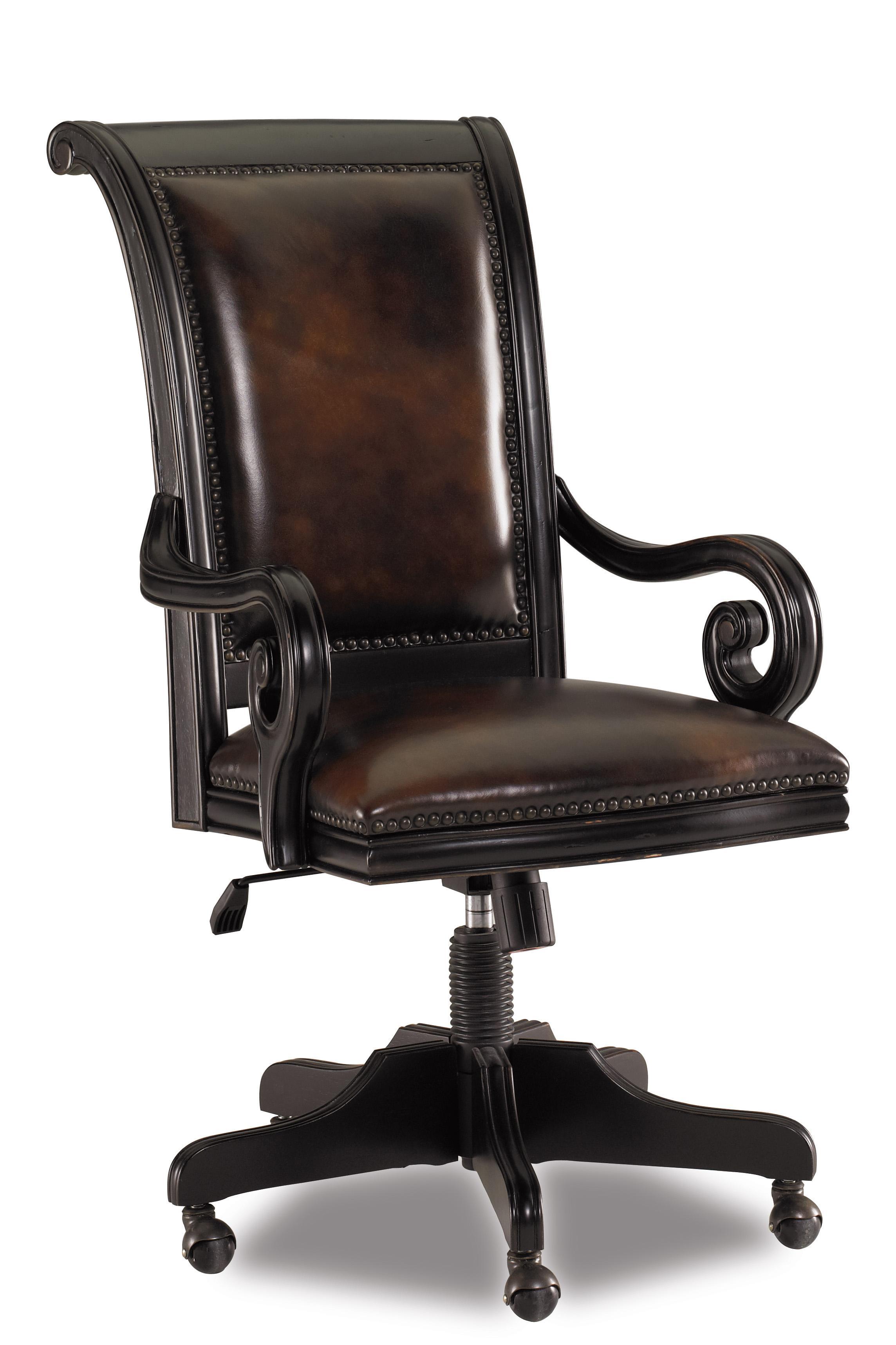 Telluride Tilt Swivel Chair by Hooker Furniture at Mueller Furniture