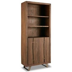 Contemporary Rustic Bookcase