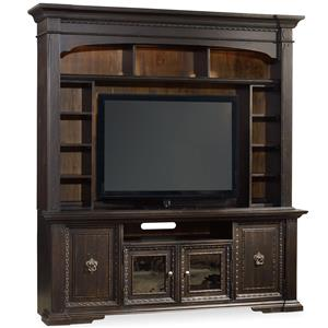 2 Pc Entertainment Group with Lighted Hutch