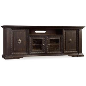 Entertainment Console with Channel Speaker Area