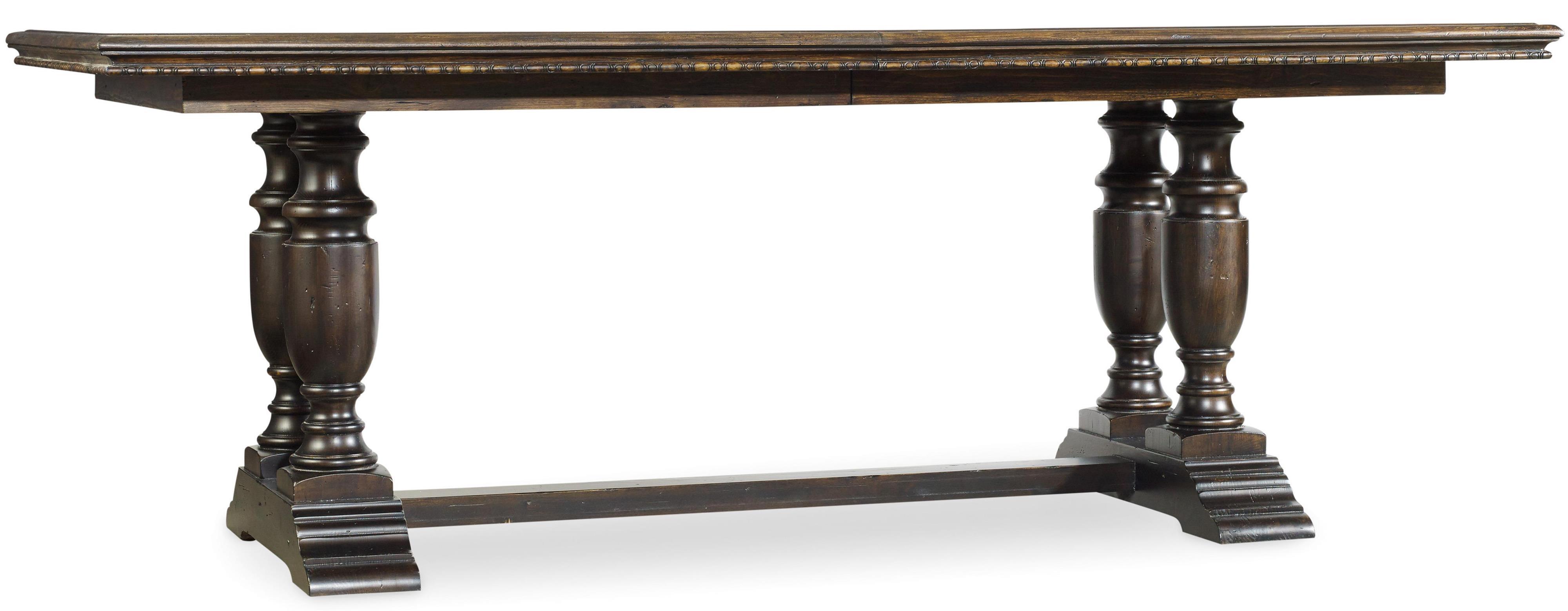 Treviso Trestle Dining Table by Hooker Furniture at Baer's Furniture