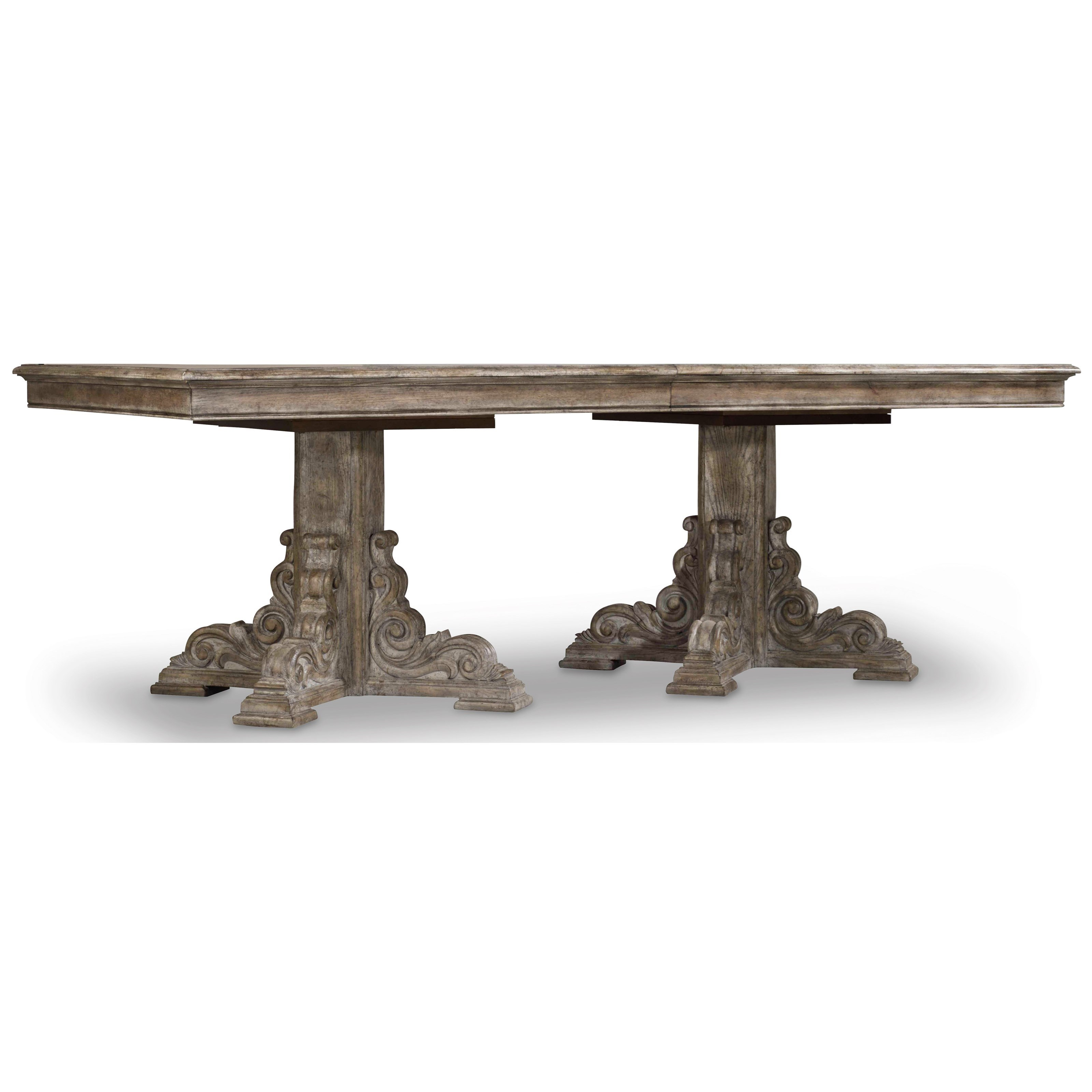 True Vintage Rectangle Dining Table by Hooker Furniture at Fisher Home Furnishings