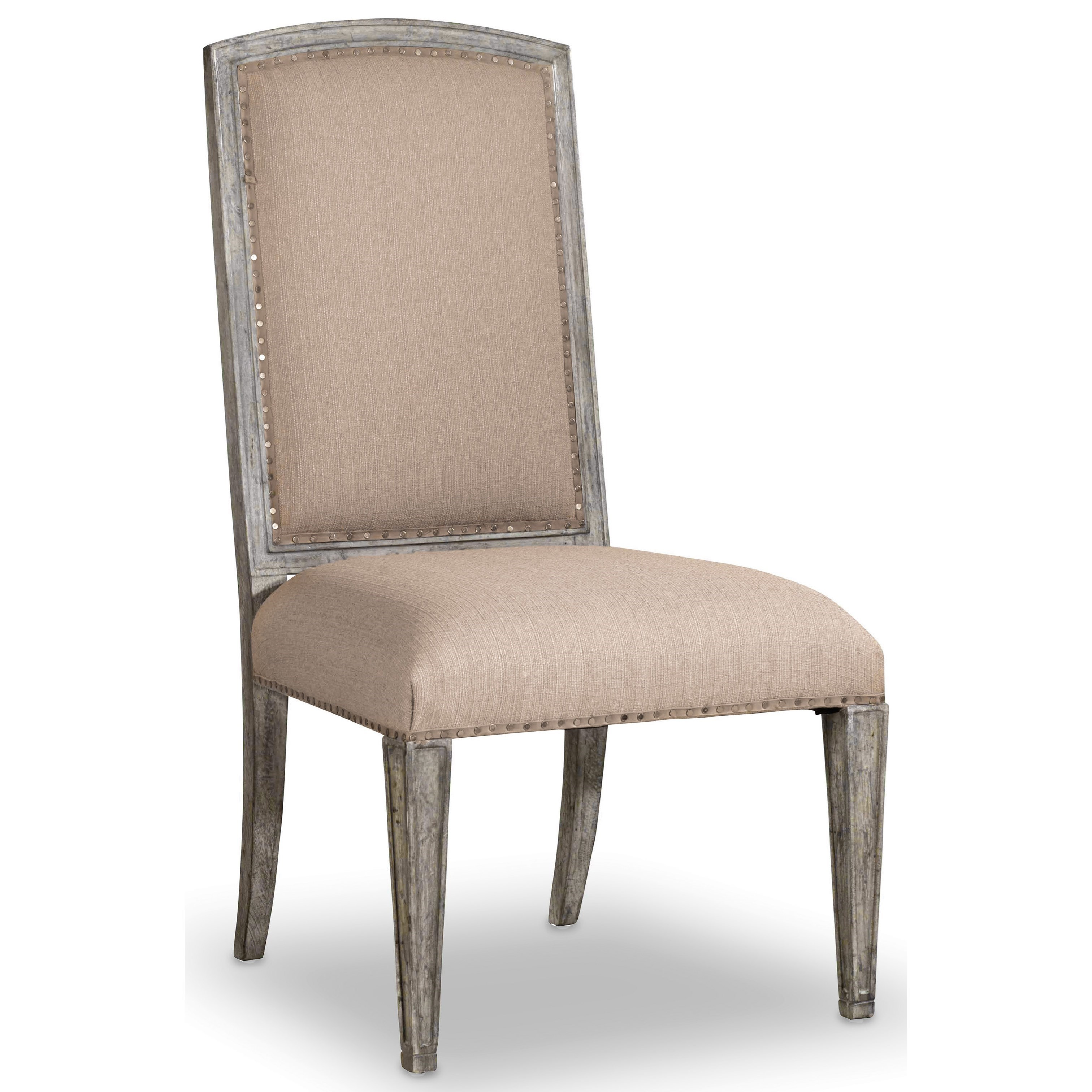 True Vintage Upholstered Side Chair by Hooker Furniture at Suburban Furniture
