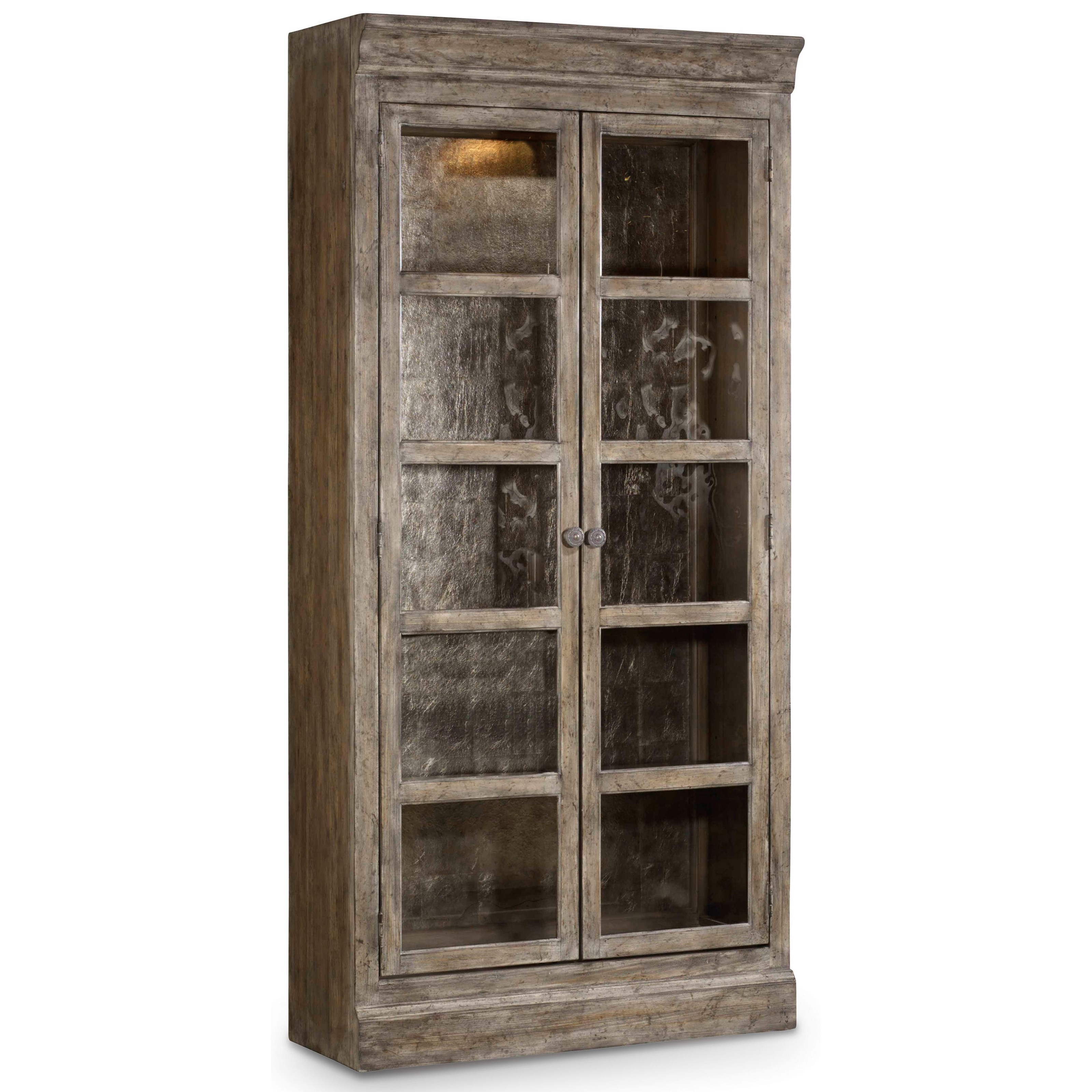 True Vintage Bunching Curio by Hooker Furniture at Baer's Furniture