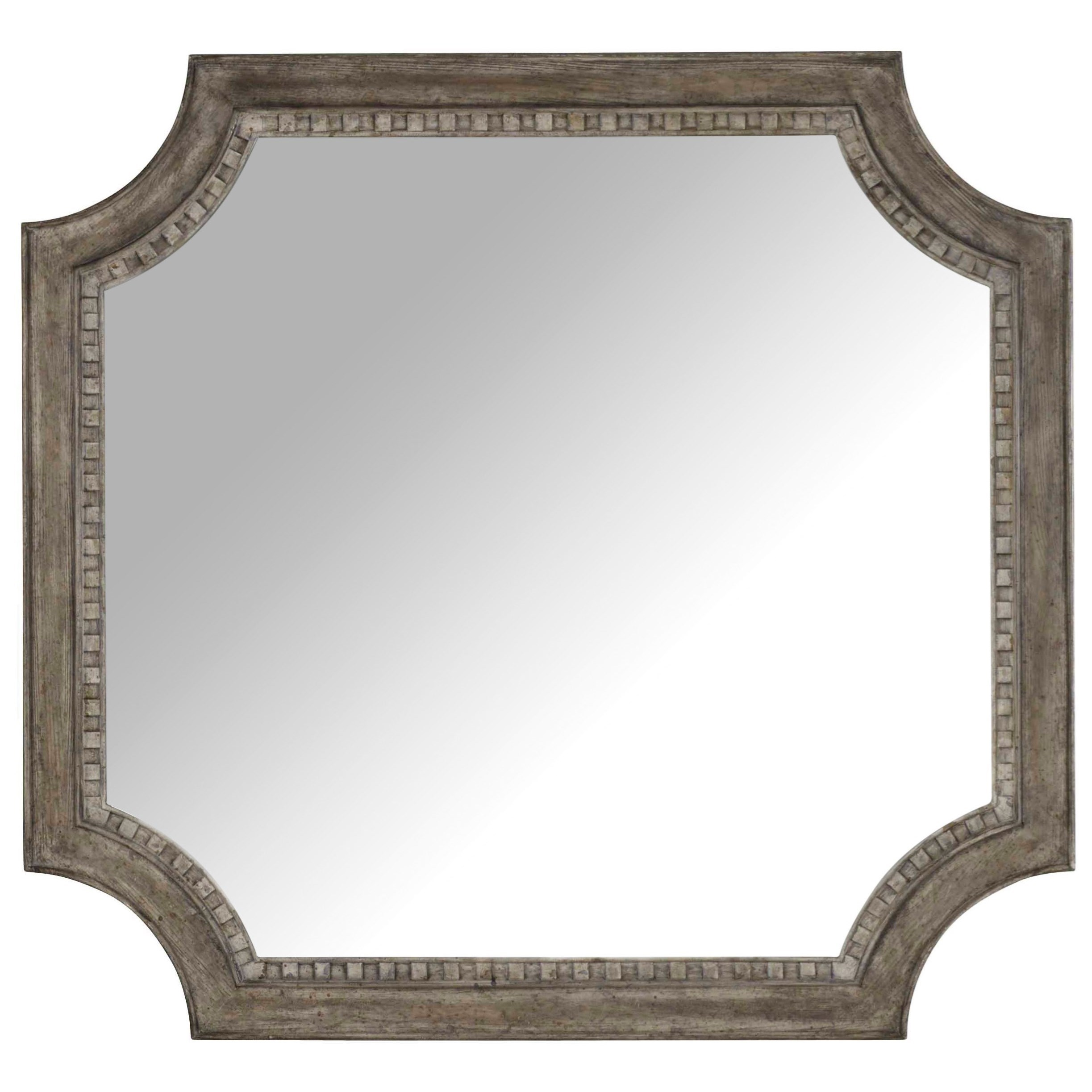 True Vintage Shaped Mirror by Hooker Furniture at Alison Craig Home Furnishings