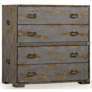 Accent Chest with 4 Dovetail Drawers