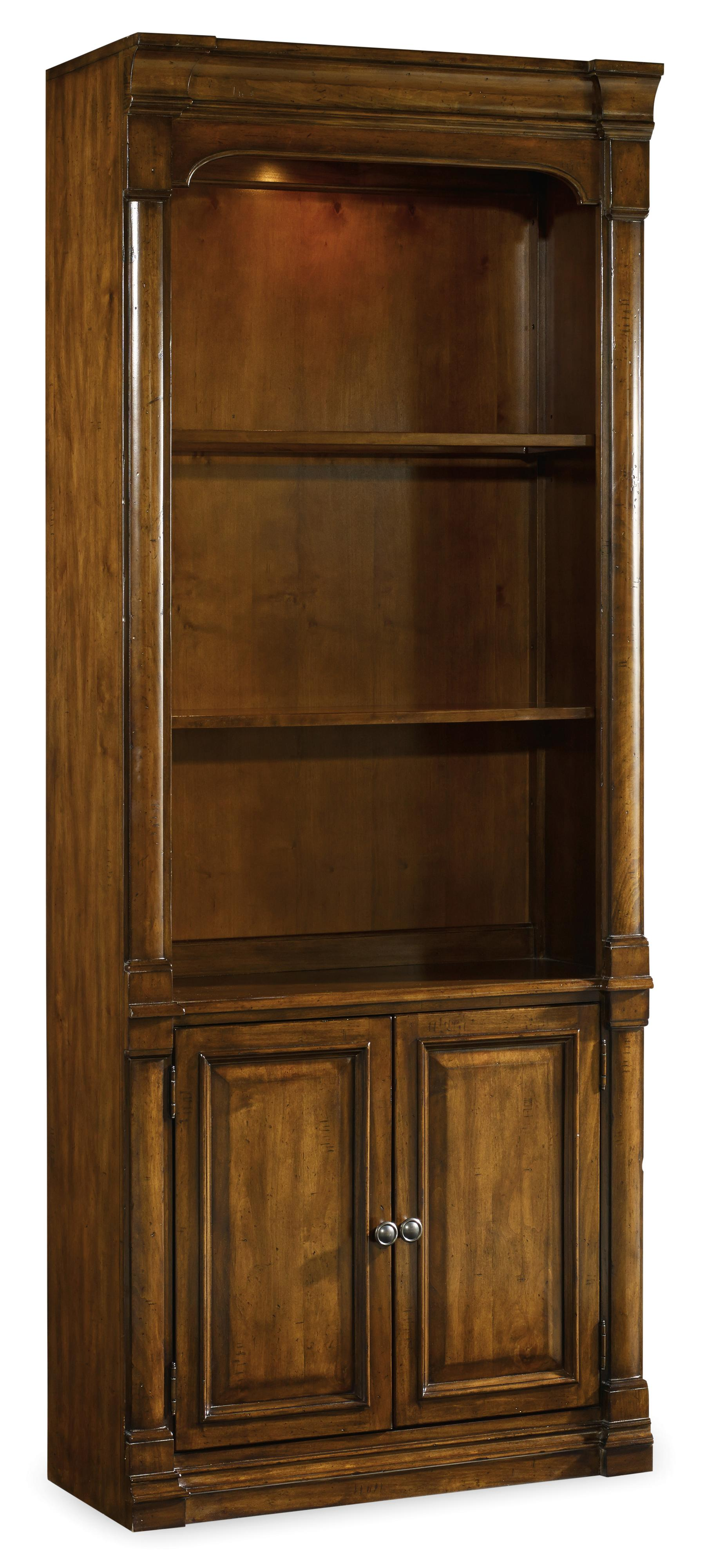 Tynecastle Bunching Bookcase by Hooker Furniture at Stoney Creek Furniture