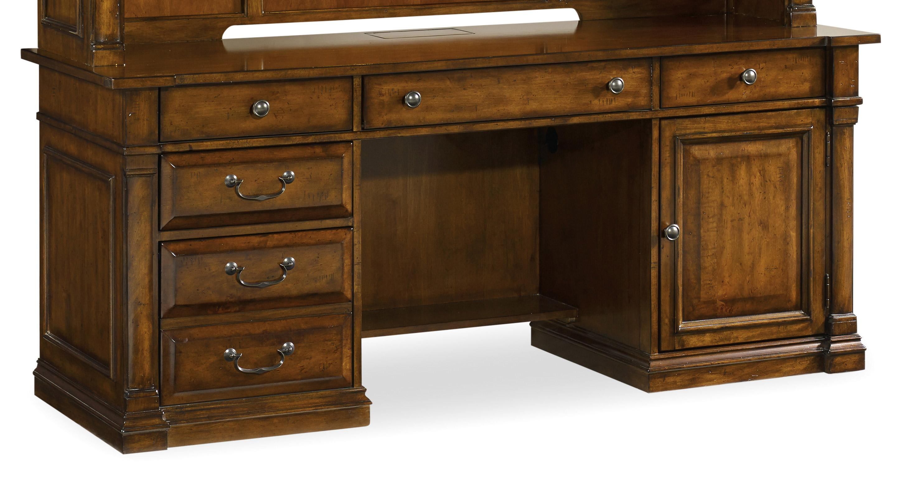 Tynecastle Computer Credenza by Hooker Furniture at Miller Waldrop Furniture and Decor