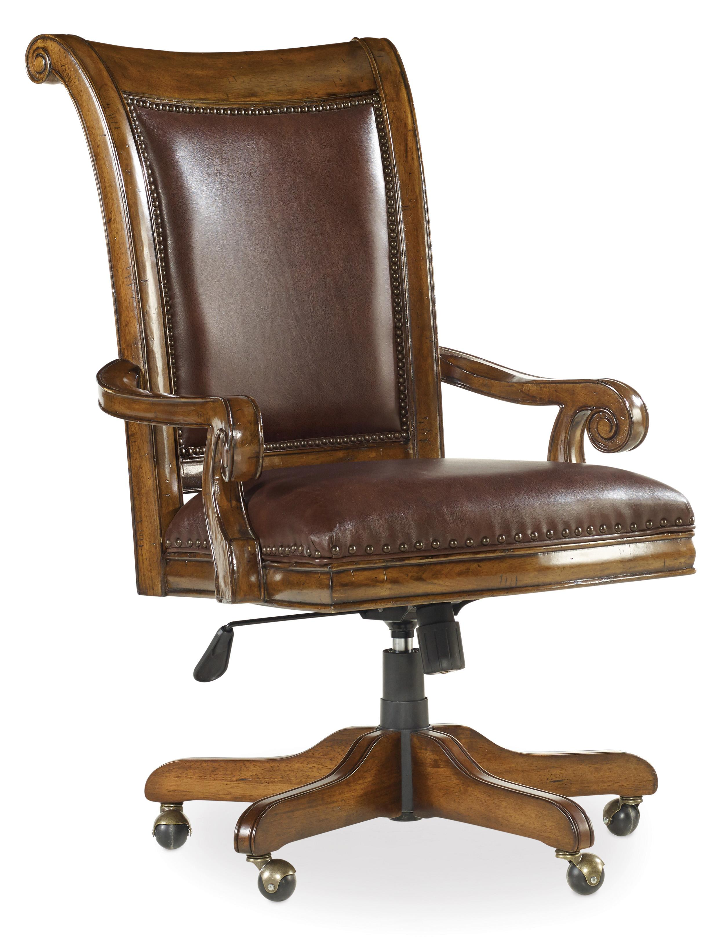 Tynecastle Tilt Swivel Chair by Hooker Furniture at Suburban Furniture