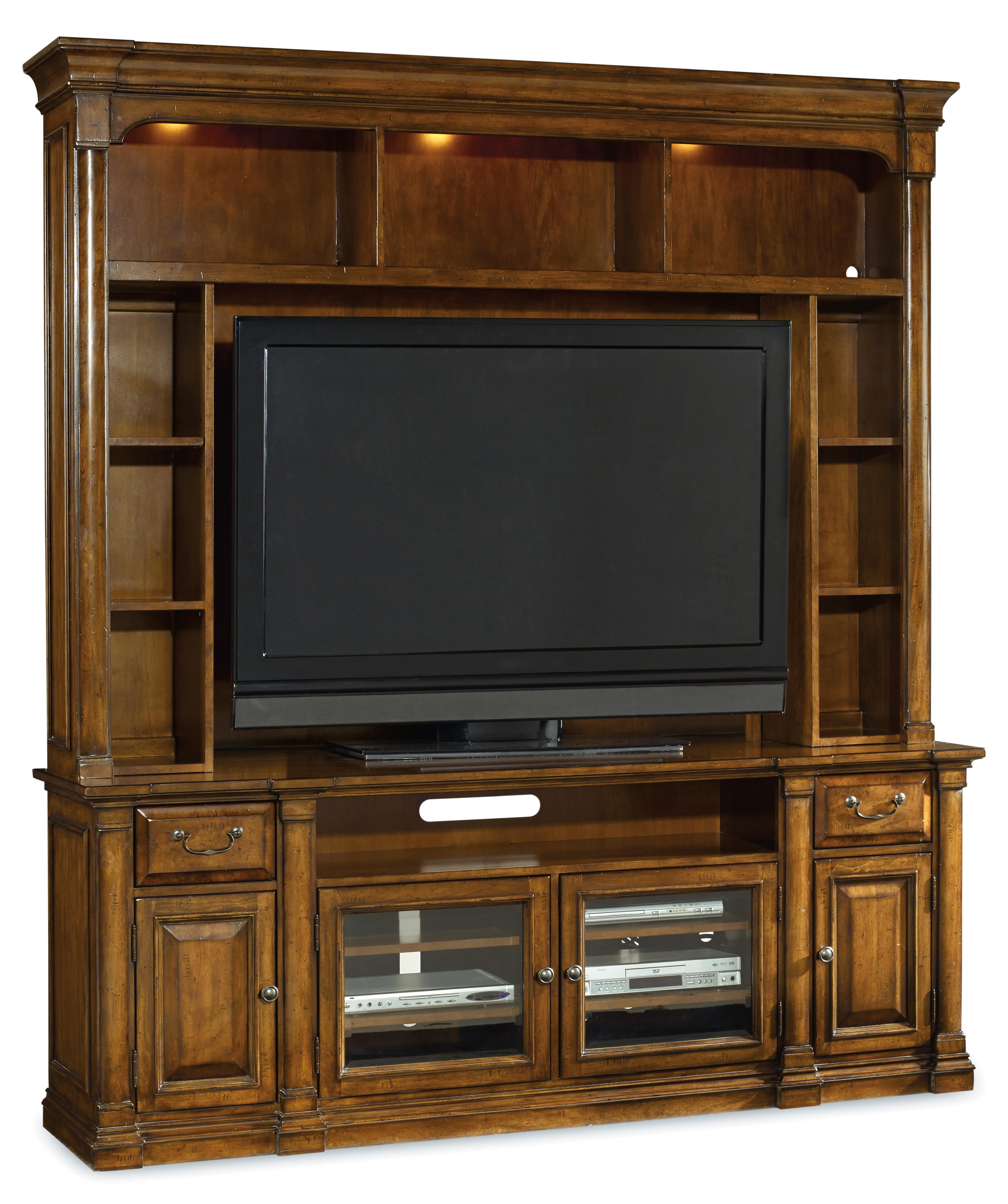 Tynecastle Entertainment Group by Hooker Furniture at Upper Room Home Furnishings