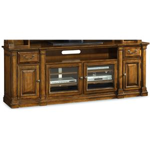 Traditional 84 Inch Entertainment Console
