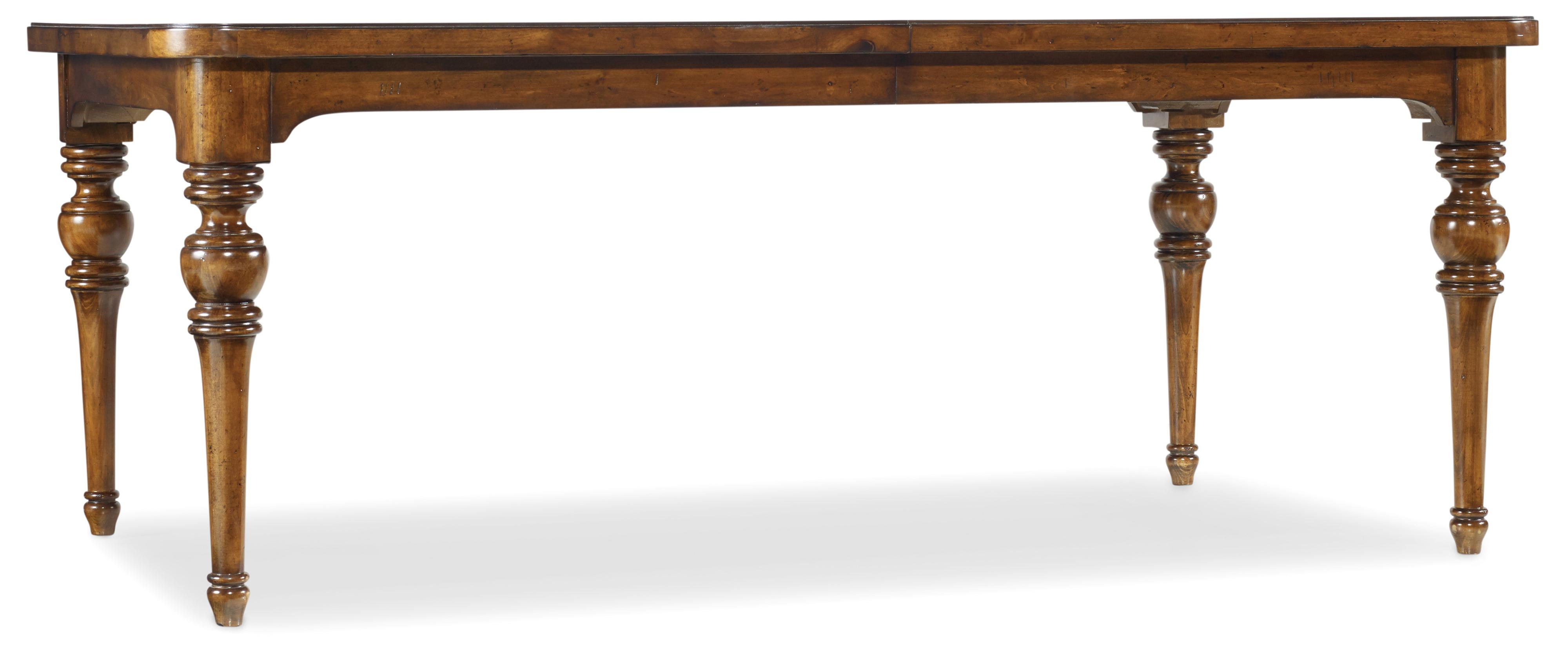 Tynecastle Dining Table by Hooker Furniture at Upper Room Home Furnishings