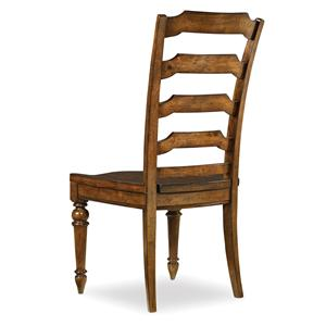 Traditional Ladderback Side Dining Chair
