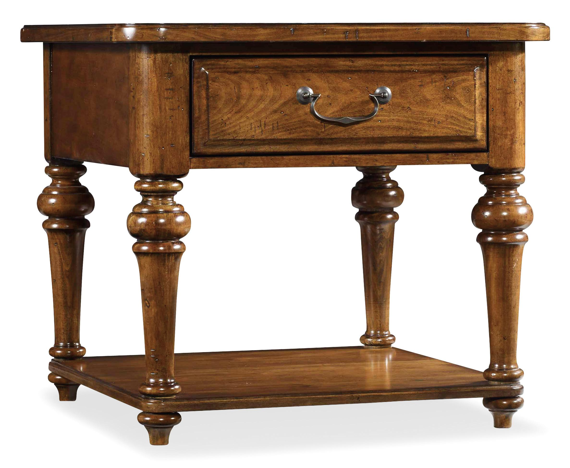 Tynecastle Lamp Table by Hooker Furniture at Upper Room Home Furnishings