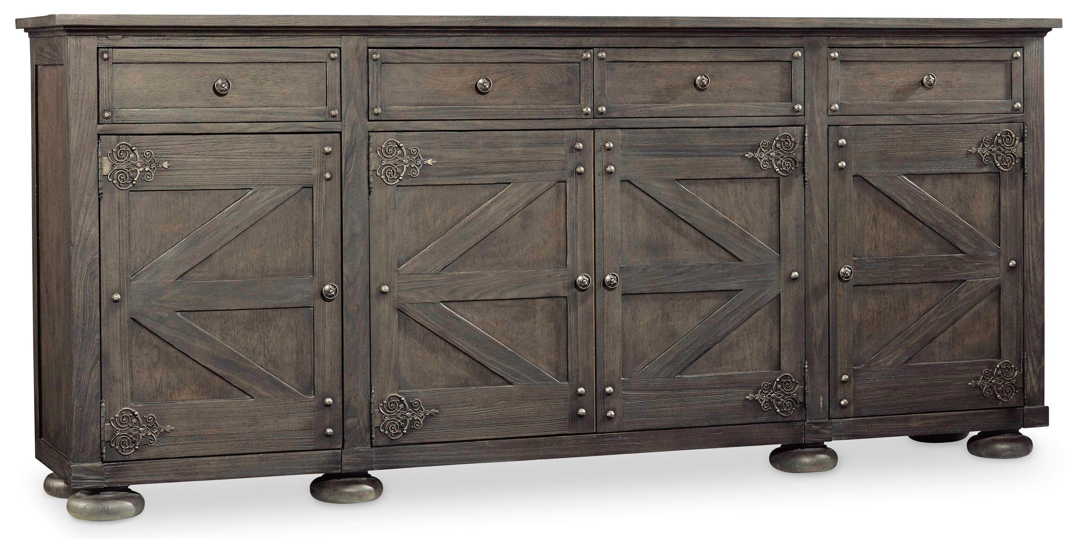 Vintage West Storage Credenza by Hooker Furniture at Baer's Furniture
