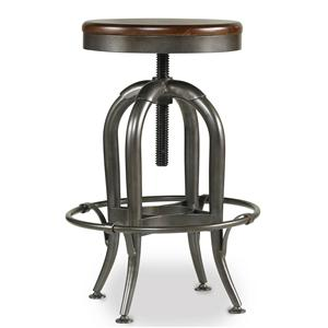 Hooker Furniture Wendover Adjustable Heighht Stool