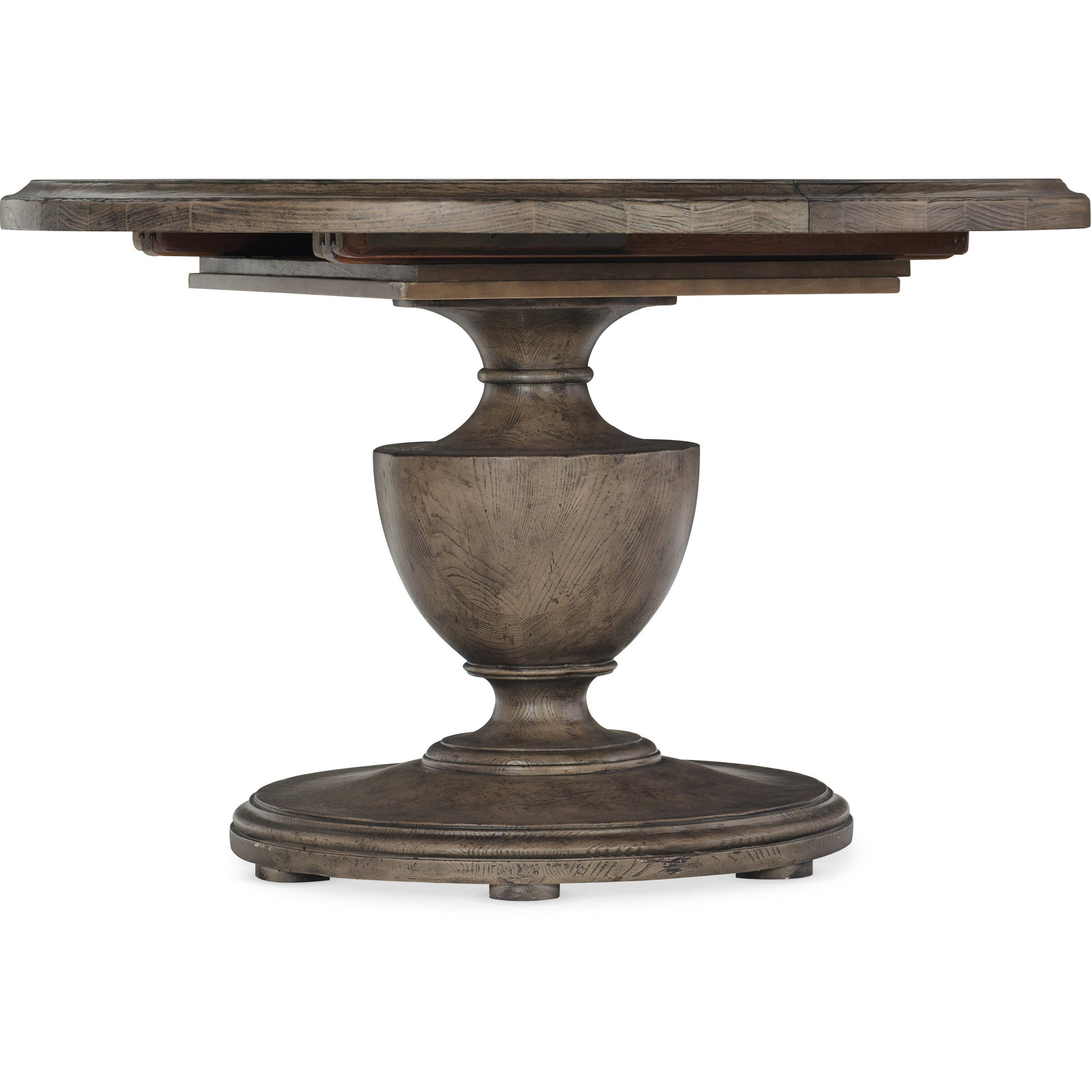 Woodlands 48in Round Dining Table by Hooker Furniture at Baer's Furniture