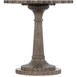 Traditional Round End Table