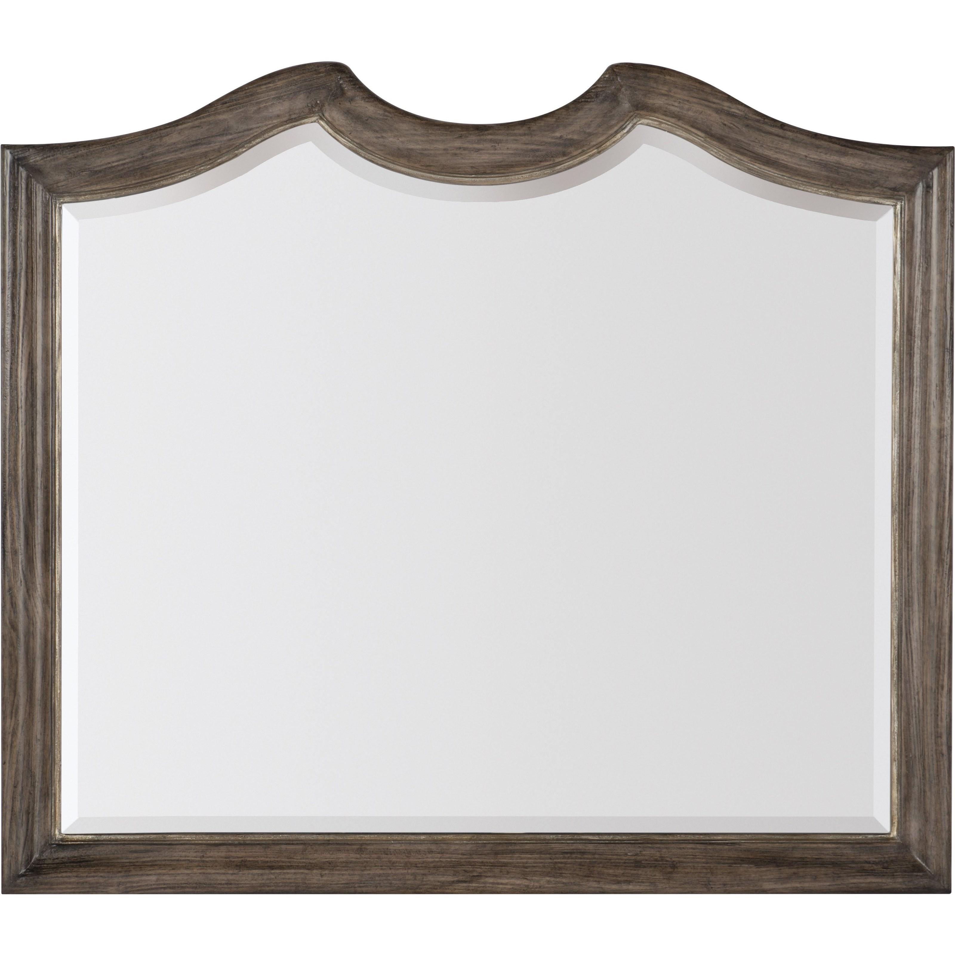 Woodlands Dresser Mirror by Hooker Furniture at Alison Craig Home Furnishings