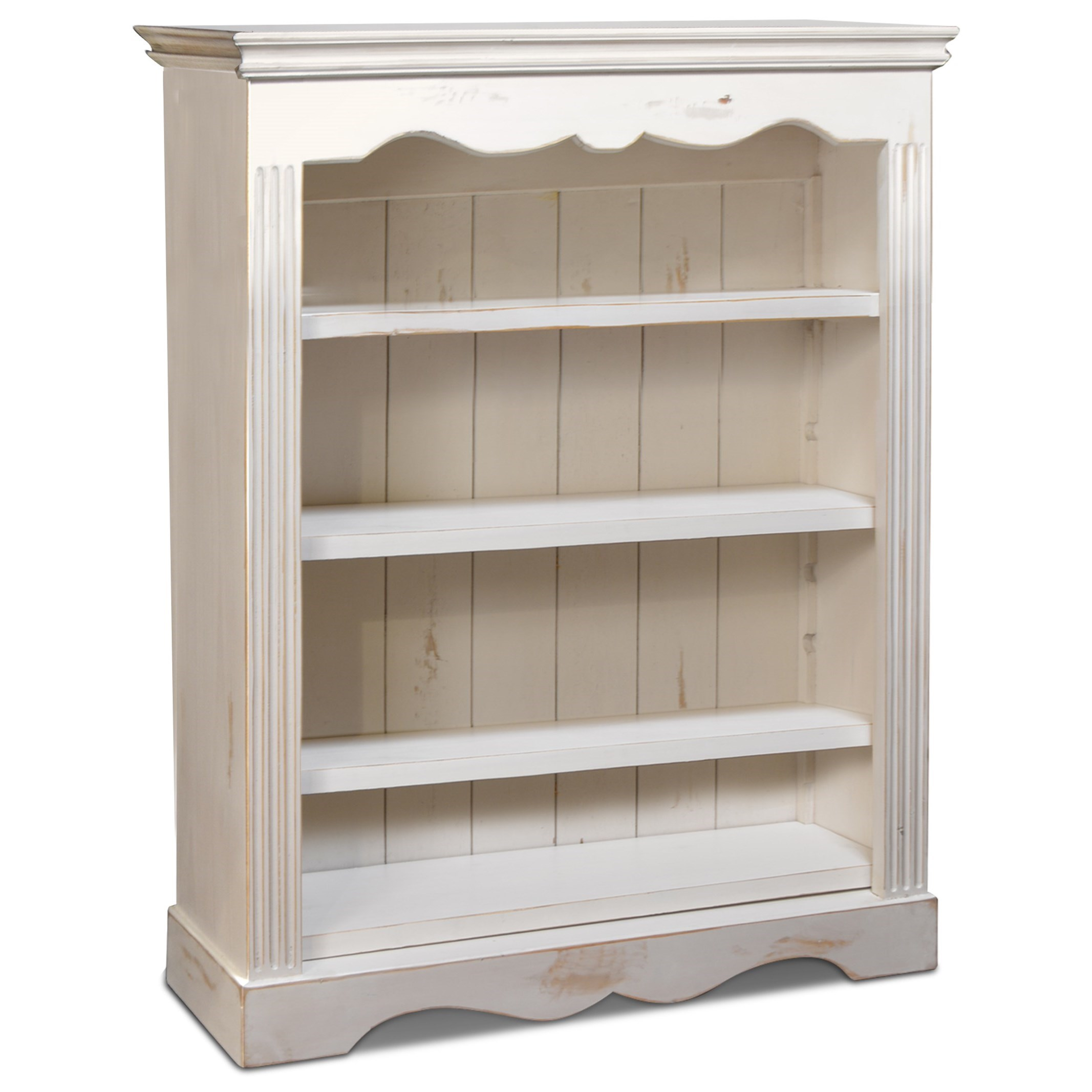Larousse Open Bookcase by Horizon Home at Home Furnishings Direct