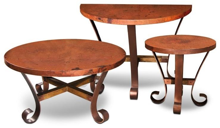 Round Cocktail Table, Round End Table and Co