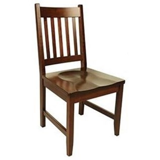 94A Solid Wood Customizable Side Chair by Horseshoe Bend at Mueller Furniture