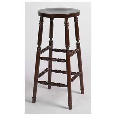 "Amish Stools Customizable Kitchen Stool 30"" Turned Leg by Horseshoe Bend at Mueller Furniture"