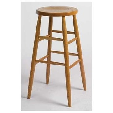"Amish Stools Customizable Kitchen Stool 30"" Plain Leg by Horseshoe Bend at Mueller Furniture"