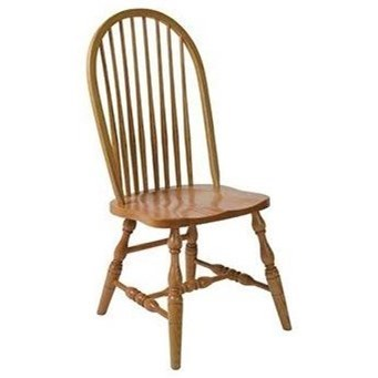 Bent Feather Solid Wood Deluxe High Back Side Chair by Horseshoe Bend at Mueller Furniture
