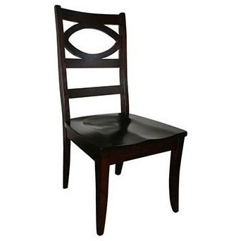 Globe Customizable Solid Wood Side Chair by Horseshoe Bend at Mueller Furniture
