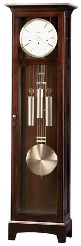 Clocks Urban Floor II Grandfather Clock by Howard Miller at Alison Craig Home Furnishings