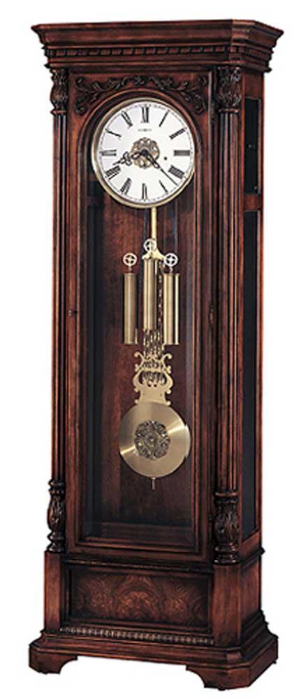 Clocks Trieste Grandfather Clock by Howard Miller at Alison Craig Home Furnishings
