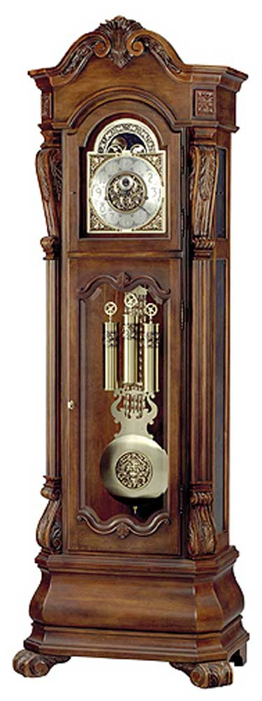 Clocks Hamlin Grandfather Clock by Howard Miller at Alison Craig Home Furnishings