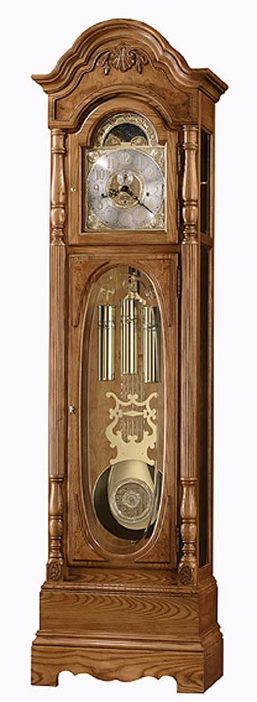 Clocks Schultz Grandfather Clock by Howard Miller at Alison Craig Home Furnishings