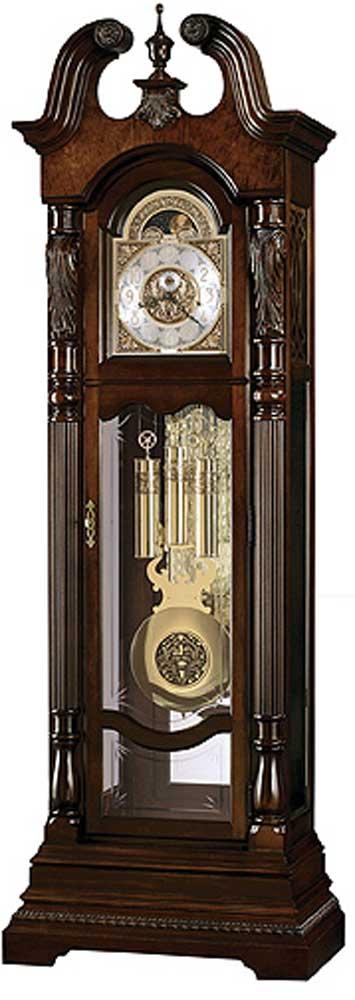 Clocks Lindsey Grandfather Clock by Howard Miller at Alison Craig Home Furnishings