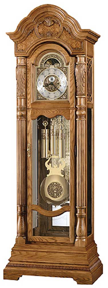 Clocks Nicolette Grandfather Clock by Howard Miller at Alison Craig Home Furnishings